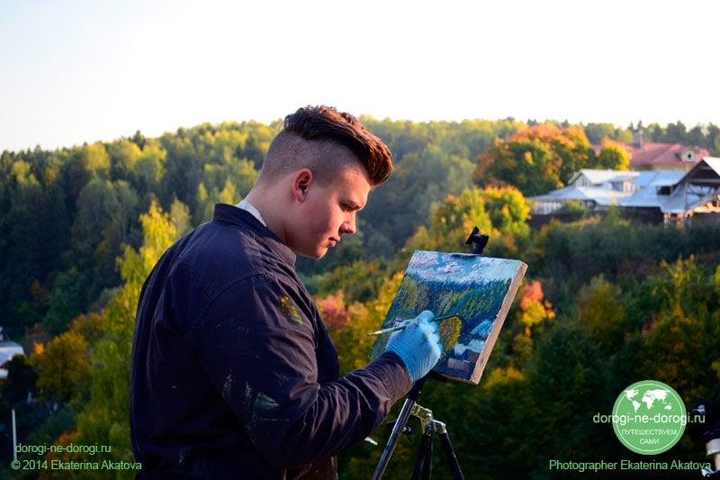 Художник на Соборной горе