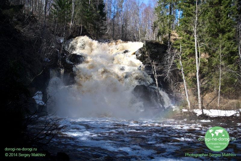 Водопад Юканкосски