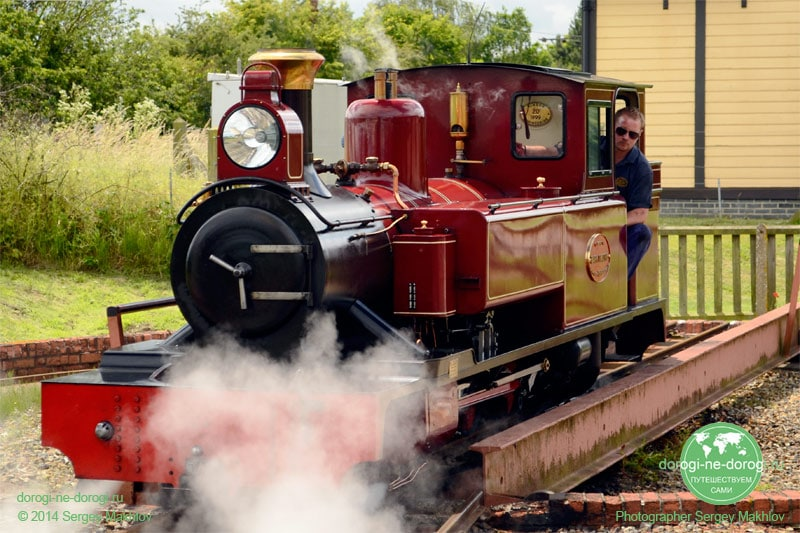 Bure Valley Railway поворотный круг
