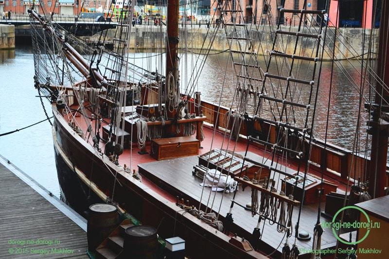 Ливерпуль, Альберт док (Liverpol Albert Dock)