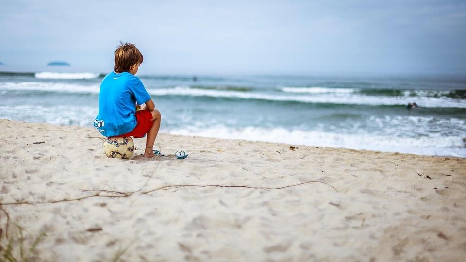 Ребёнок_на_пляже