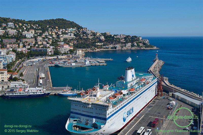 Ницца — известнейший на Средиземноморье порт