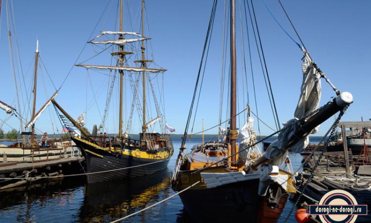 Парусные корабли в Петрозаводске