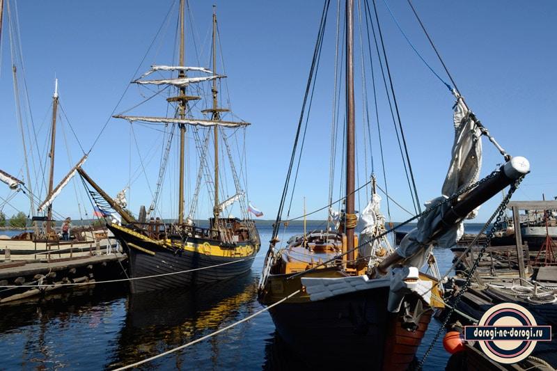 Полярный Одиссей. Парусные корабли в Петрозаводске.