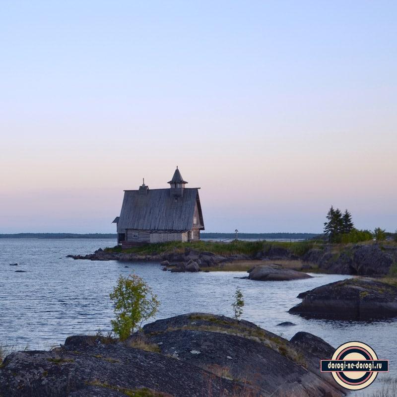 Место съемок фильма Остров