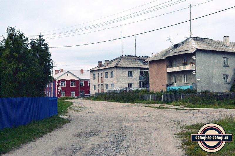 В поселке Соловецкий