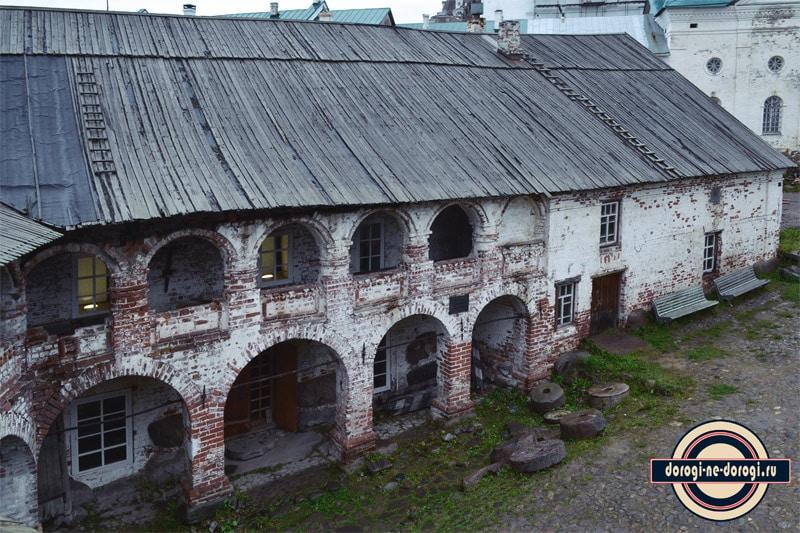 Мельница в Соловецком монастыре