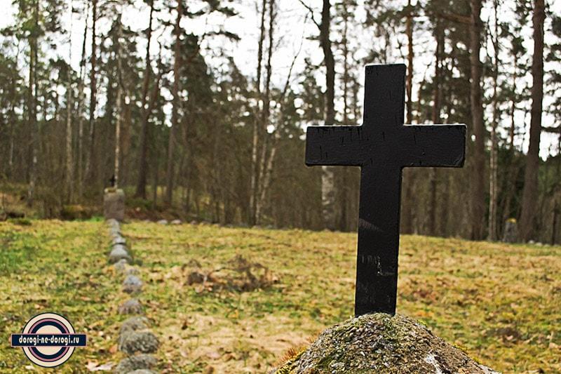 Финское военное захоронение в Лумиваара