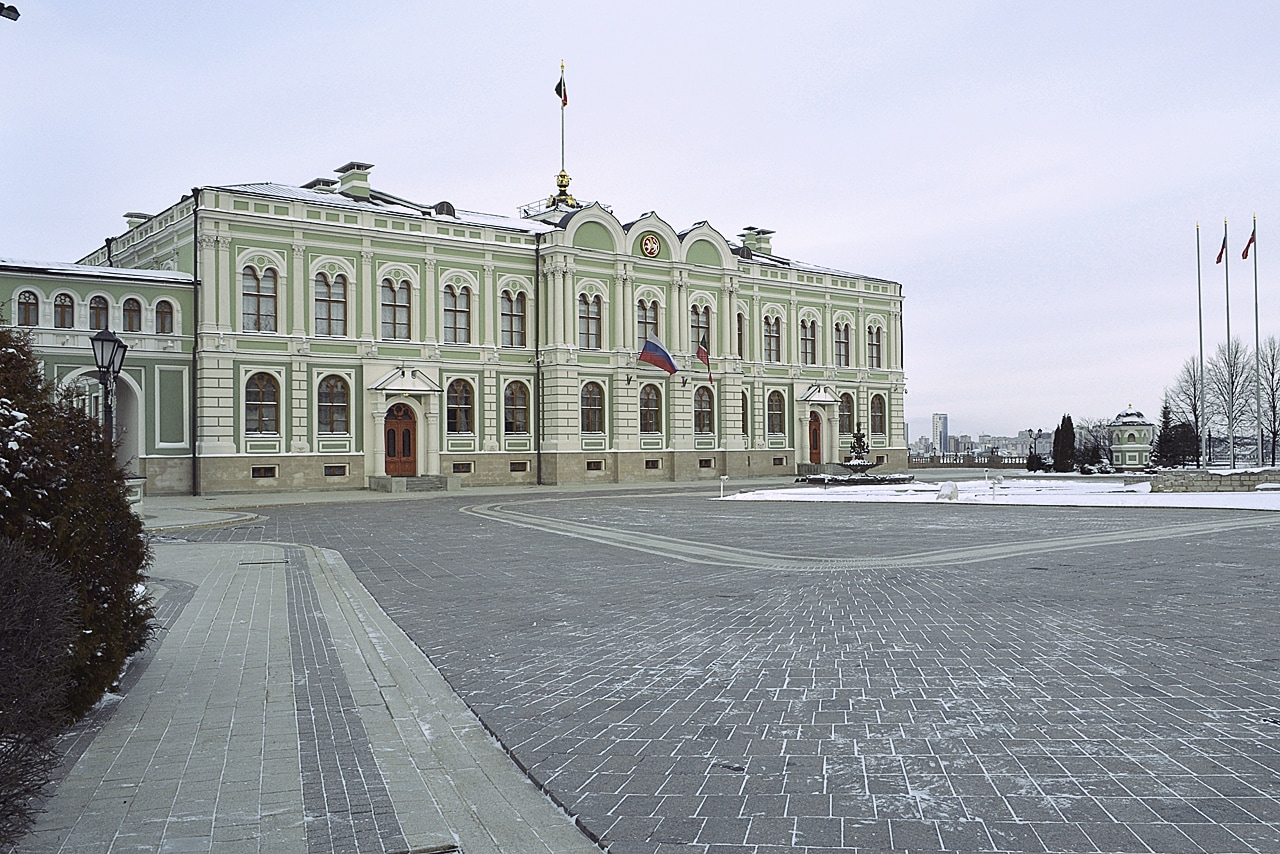 Президентский дворец в Казани