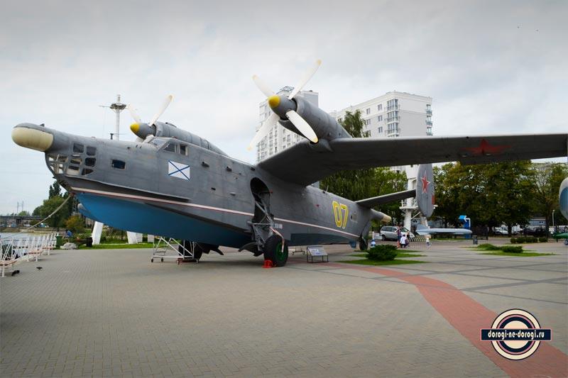 Бе-12 в Калининграде