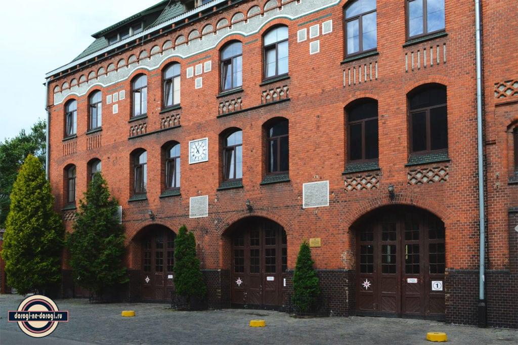 Кёнигсберг. Старое немецкое пожарное депо.