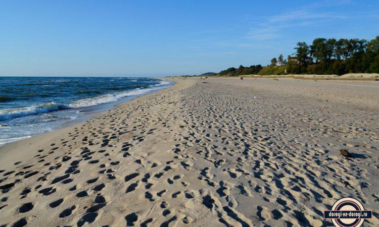 Пляжи Калининградской области