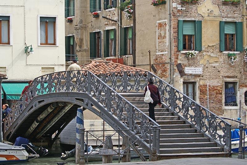 Мост в венецианском Гетто