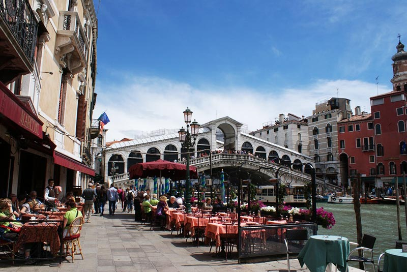 Кафе в Венеции
