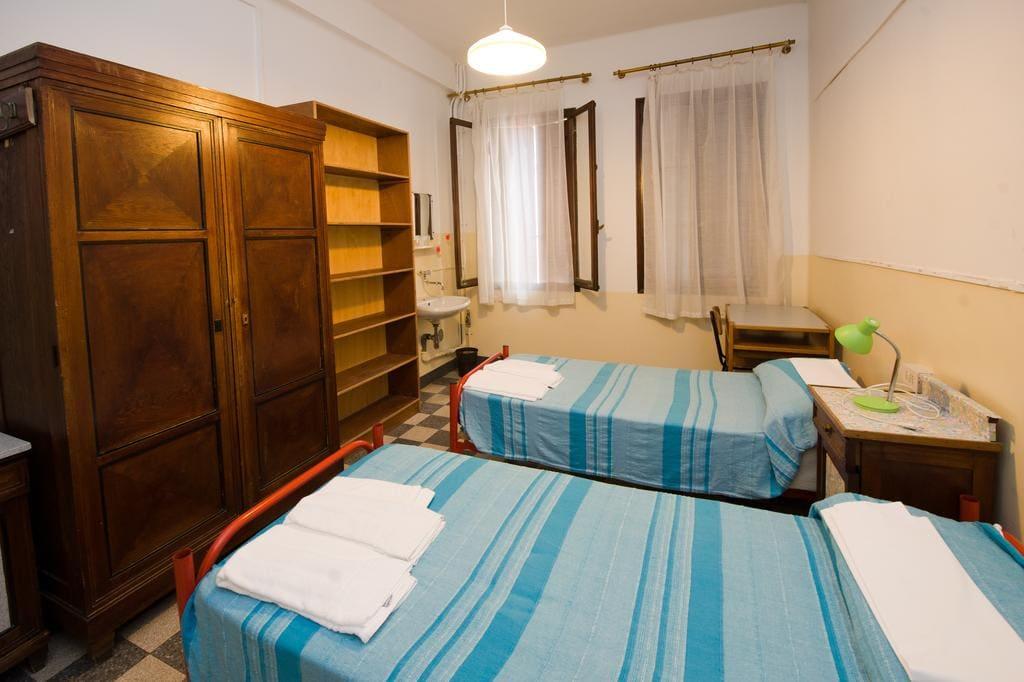 Спальня в Ostello Domus Civica