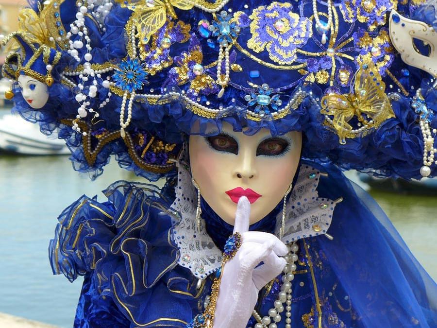 На венецианском карнавале