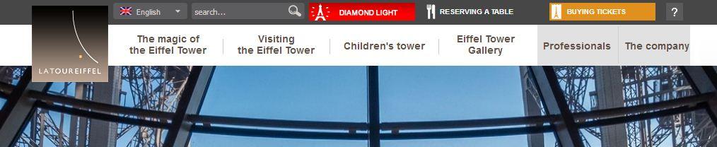 Сайт Эйфелевой башни