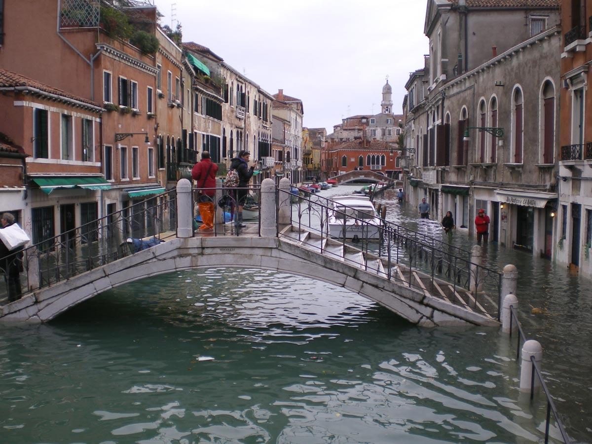 Высокая вода в Венеции