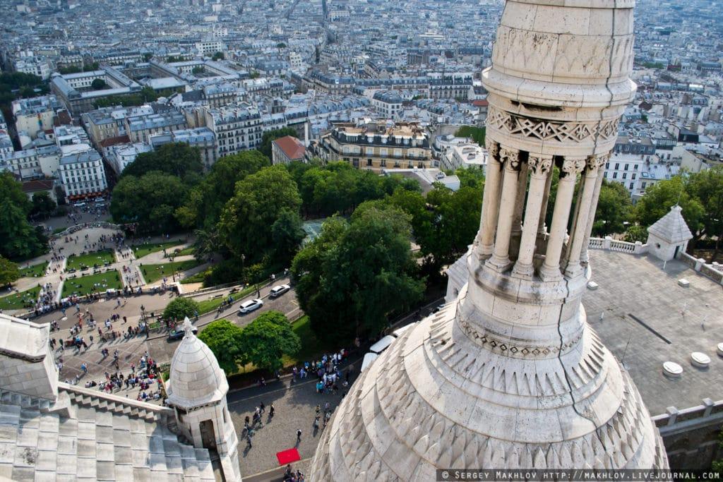 Базилика Сакре-Кёр – красивая достопримечательность Парижа