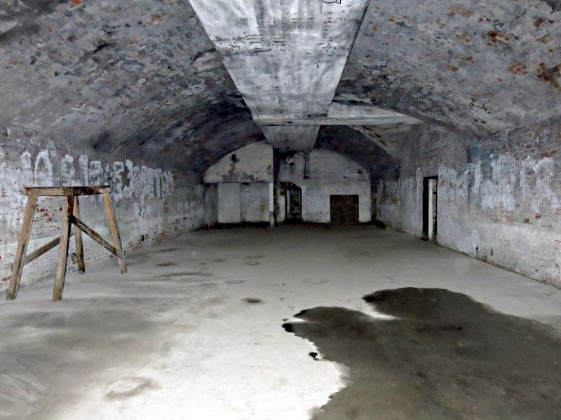 Бункер перед началом реставрации, 2015 год