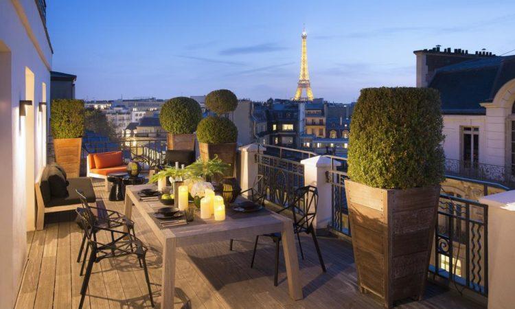 13 интересных 5-и звездочных отелей в центре Парижа