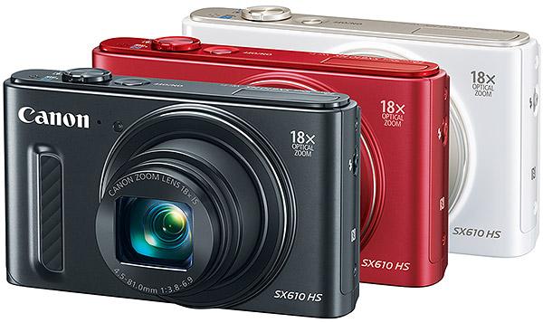 Фотоапараты разных цветов