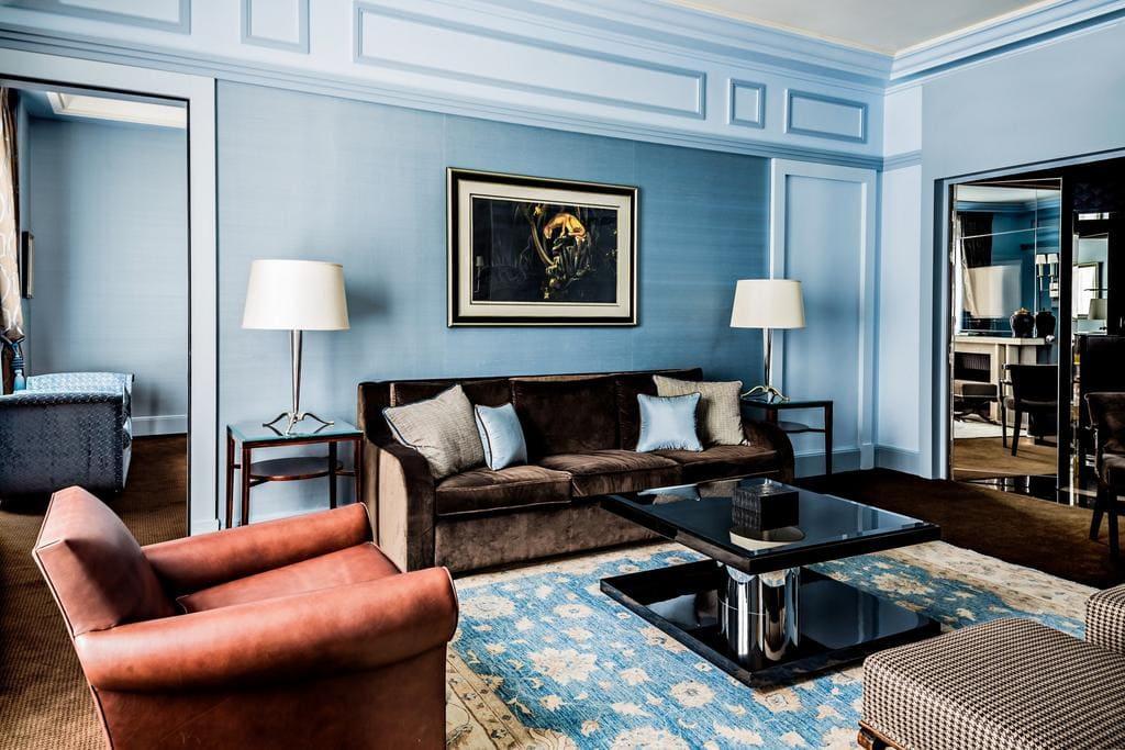 13 интересных 5-и звездочных отелей в центре Парижа - Prince de Galles