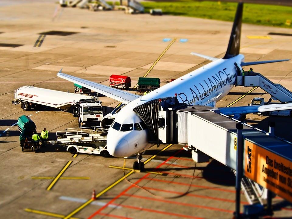 Загрузка самолета