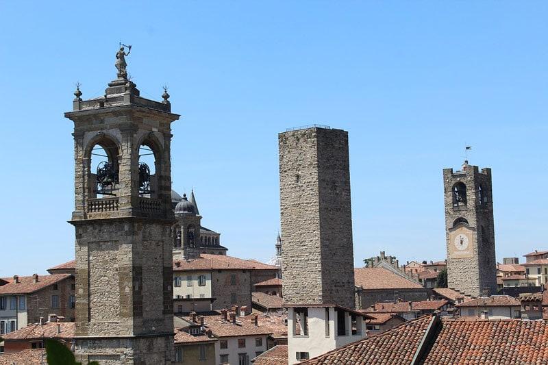 Что посмотреть в Бергамо за 1 день: Башни Бергамо