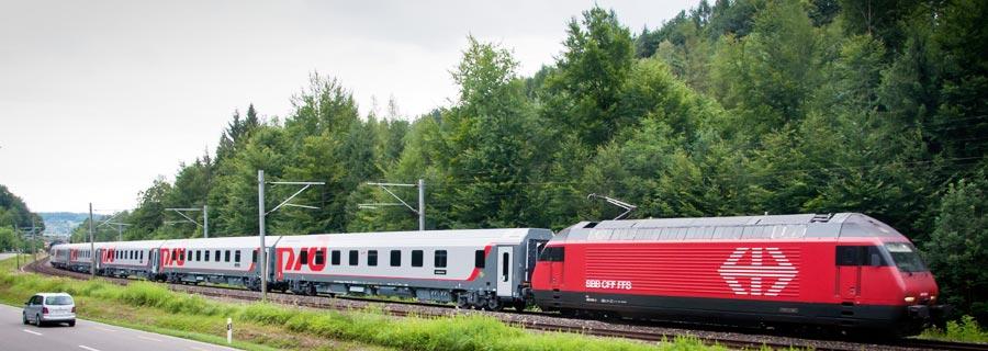 Поезд Москва - Париж