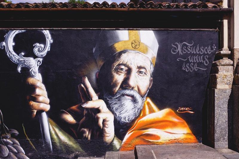 Граффити в Милане