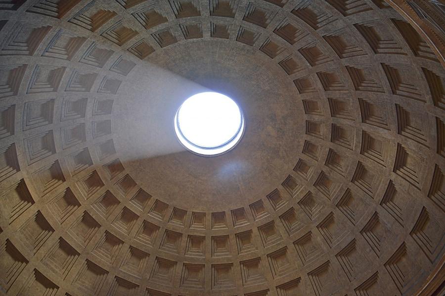 Уникальный купол римского Пантеона