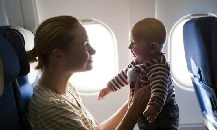 Как летать с младенцем