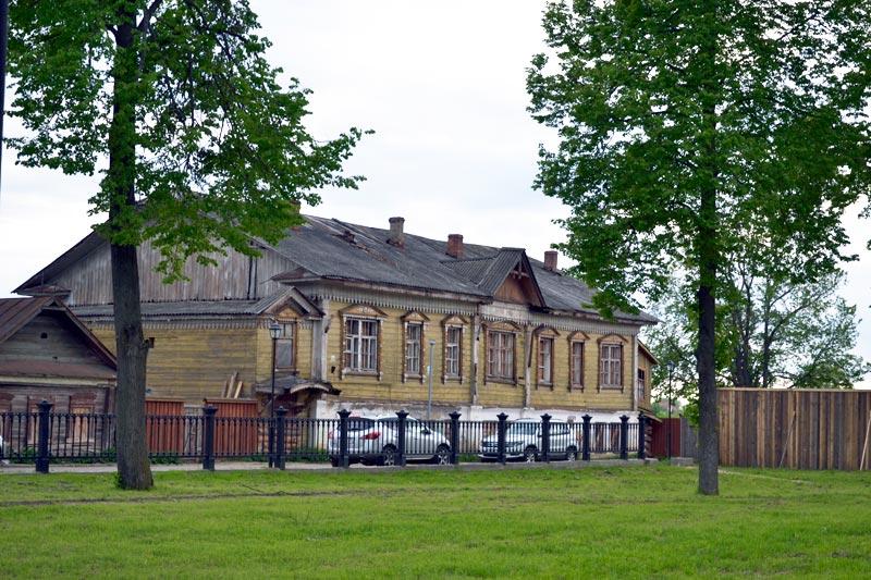 Старый дом в Суздале
