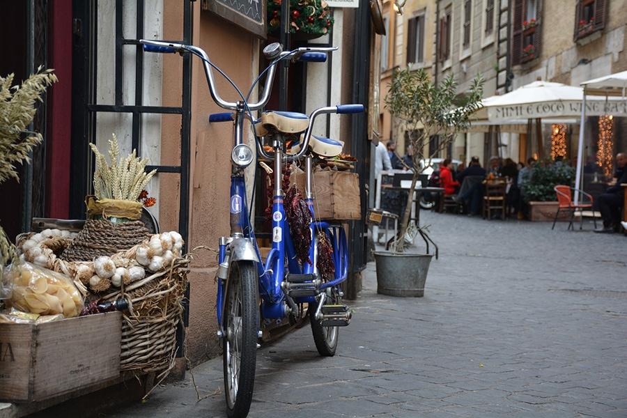 На римских улочках