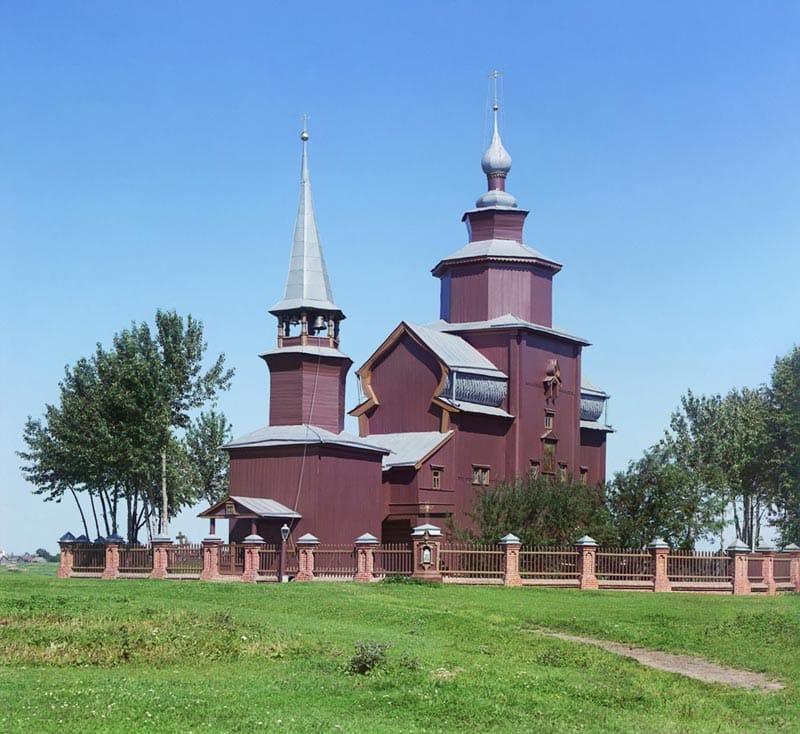 Церковь Иоанна Богослова на Ишне 1911