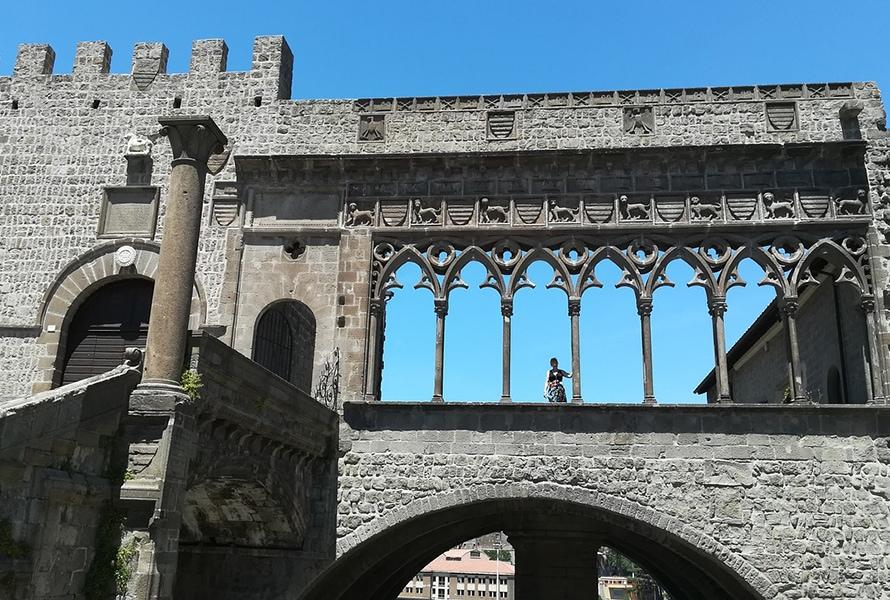 Папский дворец в Витербо – архитектурный шедевр XIII века