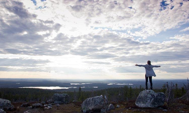 Вид с горы Воттоваара просто захватывает дух