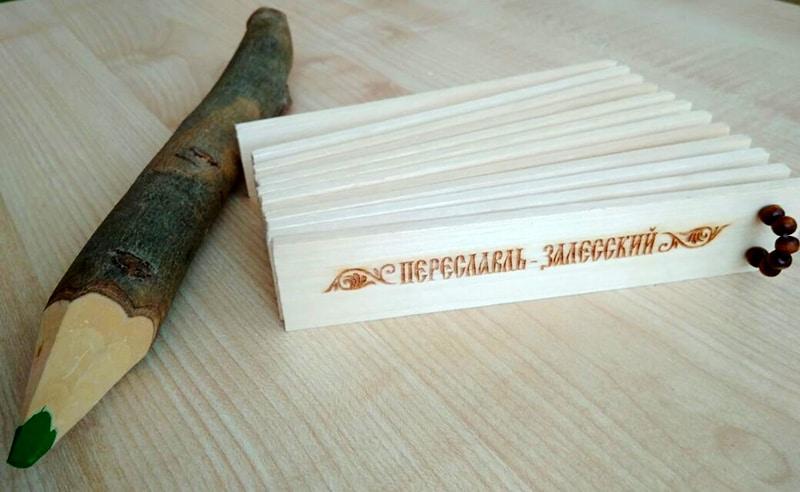 Сувениры из Переславль-Залесского не отличаются оригинальностью