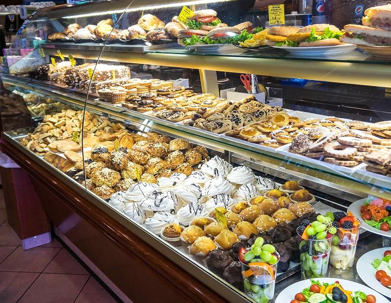 Витрина флорентийской пекарни