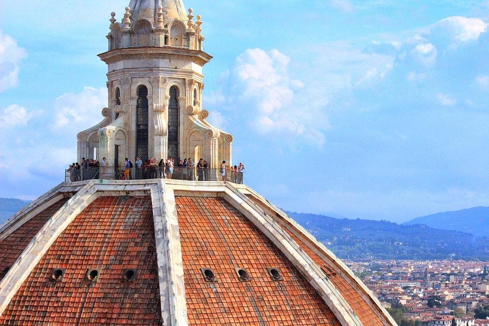 Смотровая площадка купола Дуомо. Отсюда открывается лучший вид на всю Флоренцию