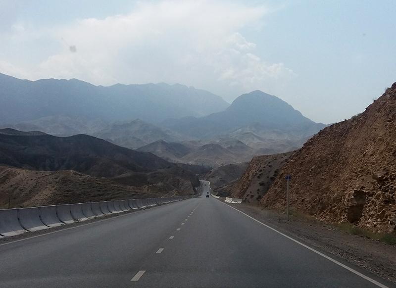 Дорога Ош-Баткен