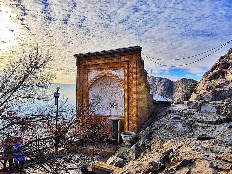 Мечеть на горе Сулайман Тоо