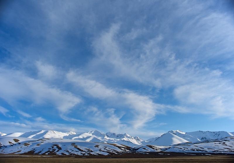 Небо над Суусамыром (фото с сайта: www.mykgstan.com)