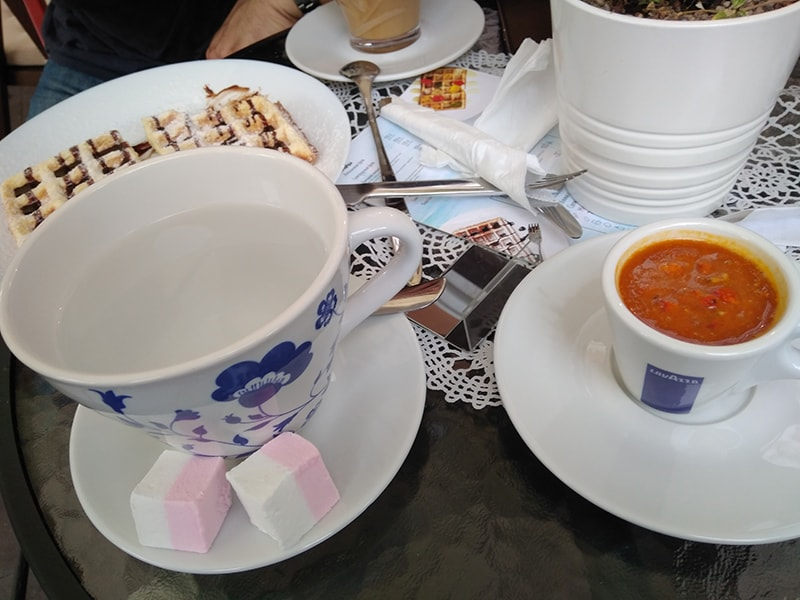 """Облепиха - символ Светлогорска. А самый вкусный облепиховый чай, который я пробовала, был в """"Карамельково"""""""