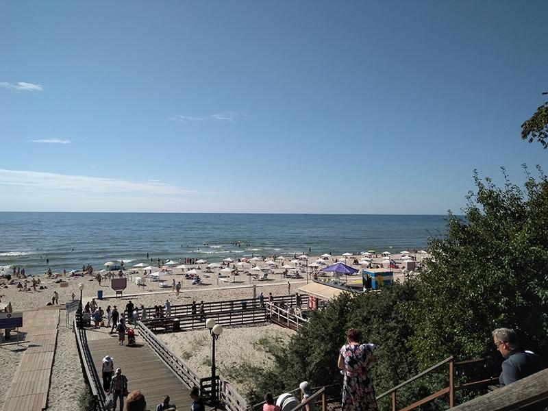 Лучшие пляжи в России - пляж в Янтарном