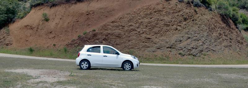 Наша арендованная Nissan Micra