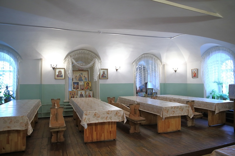 Трапезная для паломников при Троице-Сергиевой Лавре (фото с сайта монастыря)