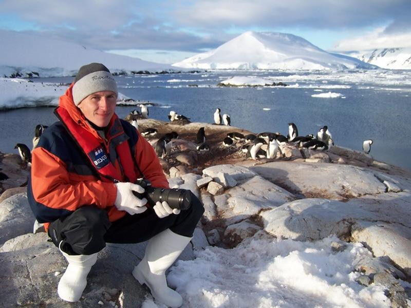 Григорий Кубатьян и пингвины