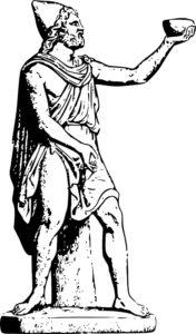 Одиссей - главный герой древнегреческих мифов, оставил свой след и на римской земле